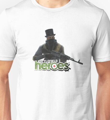 Battlefield Heroes - Alpine Soldier with Top hat Unisex T-Shirt