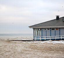 House on the beach by aginia