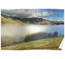 Mist In The Langdale Valley Poster