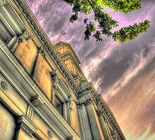 Post Office Sunset by BradAndGayna