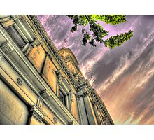 Post Office Sunset Photographic Print