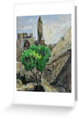 David Tower in Old David City by Stella  Shube As
