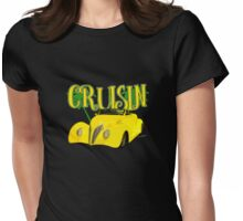 Ford Roadster 1937 in the Palms Womens Fitted T-Shirt