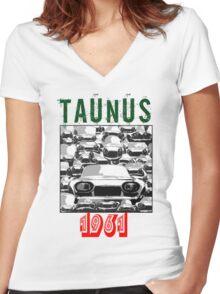 Taunus 2 Women's Fitted V-Neck T-Shirt