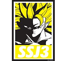 OBEY SSJ3 Photographic Print