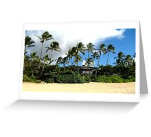Oahu Treescape Greeting Card