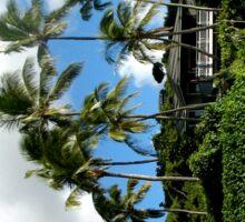 Oahu Treescape Sticker