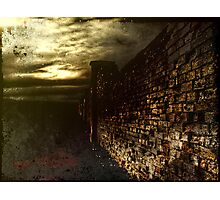 Tortured Walls Photographic Print