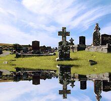 irish graveyard by morrbyte