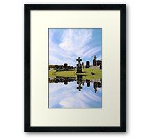 irish graveyard Framed Print