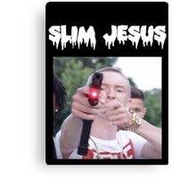 slim jesus Canvas Print
