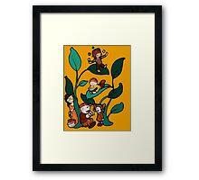Funny  Beanstalk 1 Framed Print