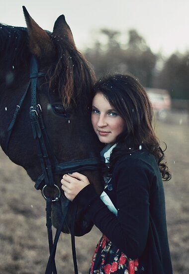 A Girl with a Horse II by ilva