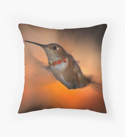 Dawn Patrol by Badinov Throw Pillow