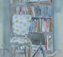 My reading corner by Catrin Stahl-Szarka