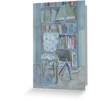 My reading corner Greeting Card
