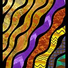 Batik Quilt Inspired Greeting by SHickman