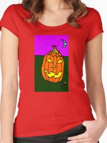 """""""Jacky-O"""" by Richard F. Yates Women's Fitted Scoop T-Shirt"""
