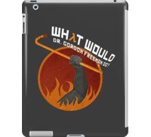 What would Dr. Gordon Freeman do? - Half Life iPad Case/Skin
