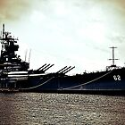 Battleship New Jersey by Krystal Cunningham