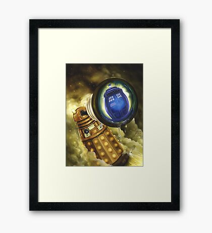 Doctor Who - Dalek Mercy Framed Print