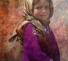 Moslem Girl by Marie Luise  Strohmenger