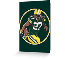 Eddie Lacy - Green Bay Packers Greeting Card