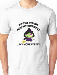 Not My Monkeys Unisex T-Shirt