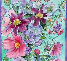 Summer Flowers 2 by Ann Mortimer