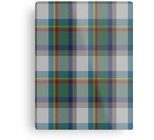 00331 Lanark Highlands District Tartan  Metal Print