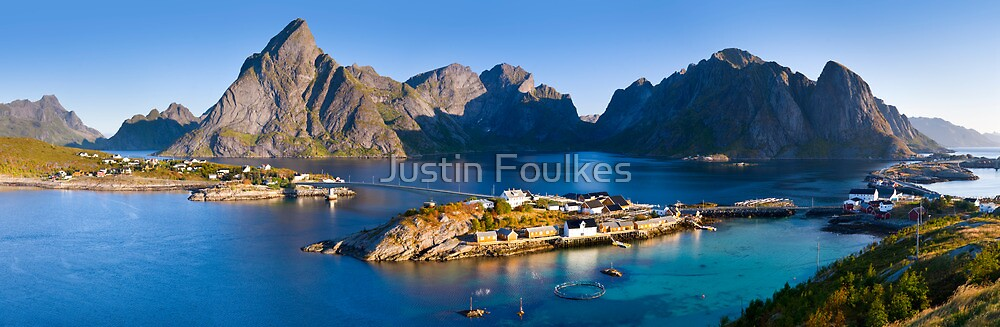 Lofoten Islands, Norway. by Justin Foulkes