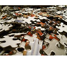 """Pieces of the Puzzle  Photographic Print"