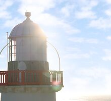 lighthouse by morrbyte