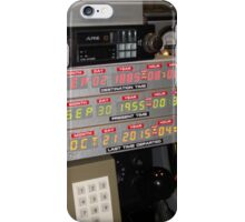 Back To The Future Time Display iPhone Case/Skin
