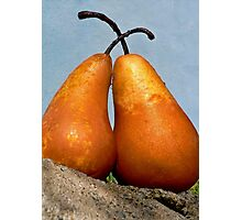 Pear Amour Photographic Print