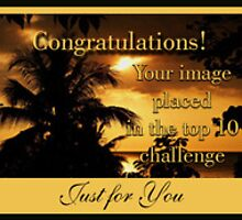 Just For You challenge banner by vigor