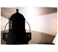 lighthouse beams Poster