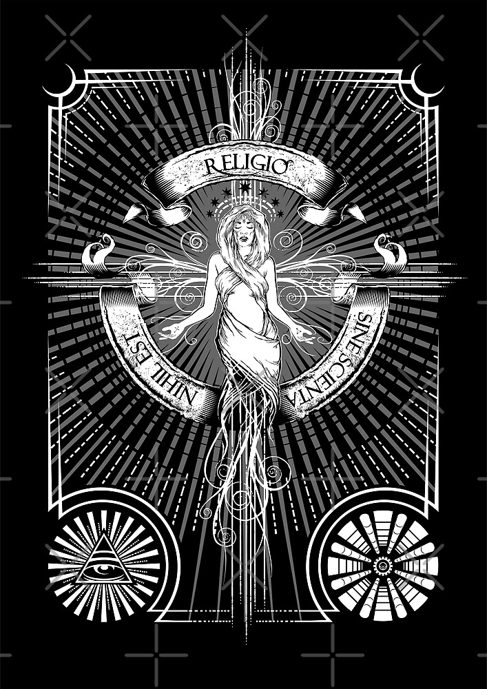 Religio Sine Scienta Nihil Est by Vincent Carrozza