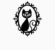 Black Triclops Cat Unisex T-Shirt