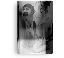 Tape My Mouth Shut Canvas Print