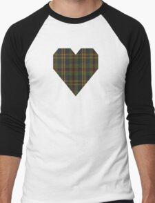 00333 Limerick County (District) Tartan Men's Baseball ¾ T-Shirt