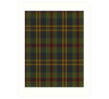 00333 Limerick County (District) Tartan Art Print