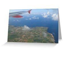 Above Malta Greeting Card
