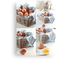 Variations on eggs Metal Print