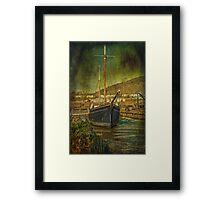 Tamar Sailing Barge Framed Print