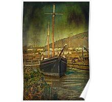 Tamar Sailing Barge Poster