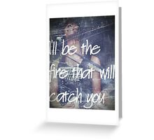 Pierce The Veil Lyrics Case Greeting Card