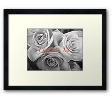 A gift for you Framed Print