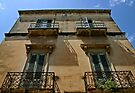 Four Windows - Lecce, Italy by Debbie Pinard