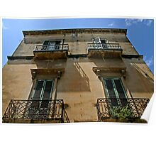 Four Windows - Lecce, Italy Poster